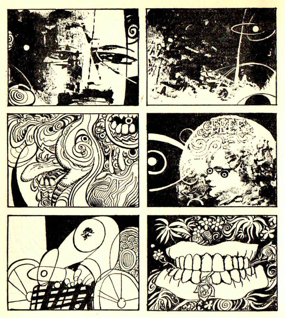 Abstract Comics av Jose Maria Bea, 1968